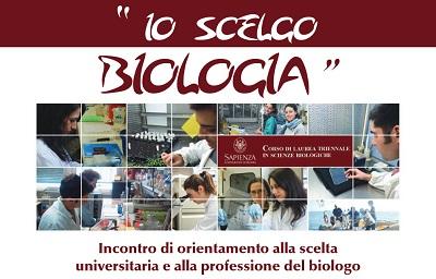 Incontro orientamento alla scelta universitaria e alla professione del Biologo Mercoledi 4 giugno ore 15.30